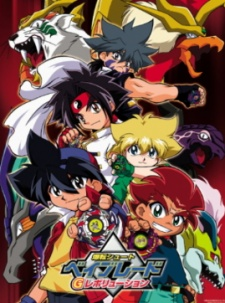 Screen Shot of Bakuten Shoot Beyblade G Revolution