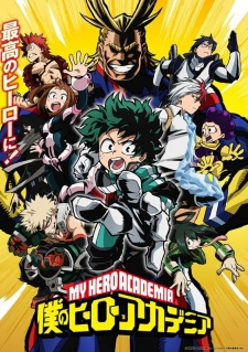Poster image of Boku no Hero Academia