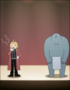 Screen Shot of Fullmetal Alchemist: Brotherhood - 4-Koma Theater
