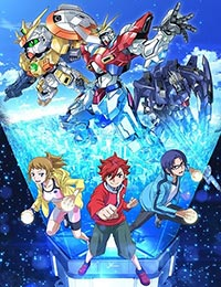 Screen Shot of Gundam Build Fighters Try