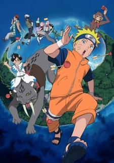 Screen Shot of Naruto the Movie 3: Guardians of the Crescent Moon Kingdom